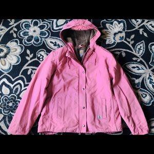 Genuine Carhartt Pink Fur-Lined Jacket Size L